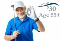 Senior Golf Special