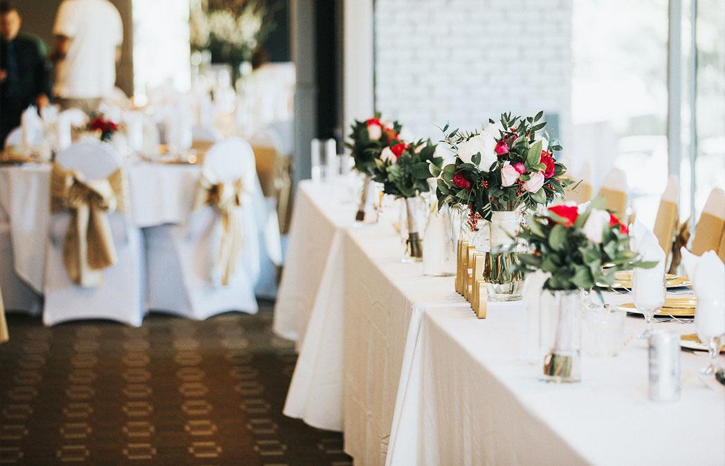 reception halls